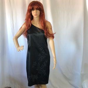 CDC Women's Dress Black Floral 10P